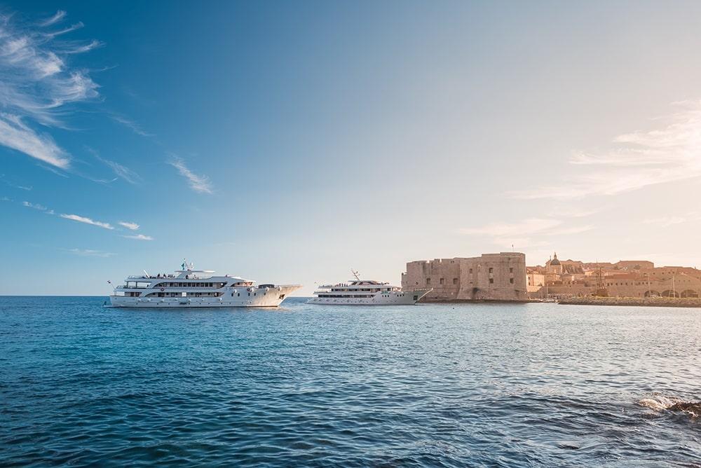 Cruceros de lujo costa croata